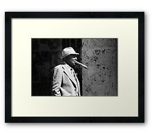 Lets burn one from end to end  Framed Print