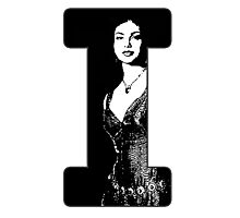 I is for Inara Photographic Print
