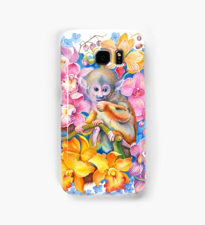 Year of the Monkey - Chinese Zodiac Watercolour Samsung Galaxy Case/Skin