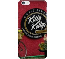 Kitty Kelly's restaurant, Donegal - wide iPhone Case/Skin
