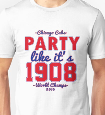 Chicago Cubs World Series Design Unisex T-Shirt