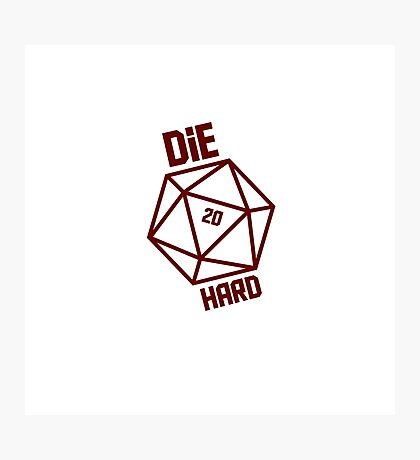 Hardiest Dice Photographic Print