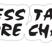 Rock Climbing Less Talk More Chalk Sticker
