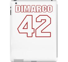 NFL Player Patrick DiMarco fortytwo 42 iPad Case/Skin