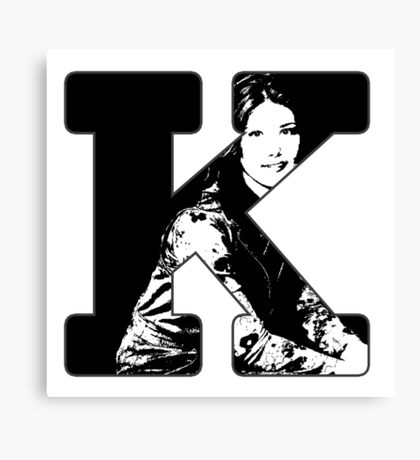 K is for Kaylee Canvas Print