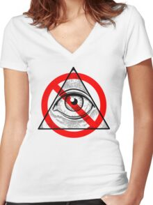 Anti-Archon Women's Fitted V-Neck T-Shirt