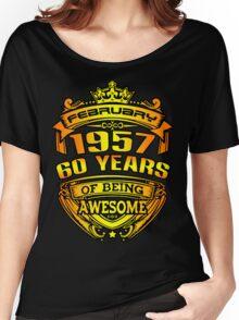 awesome 60 years Women's Relaxed Fit T-Shirt