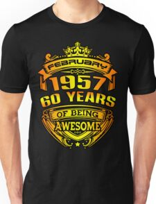 awesome 60 years Unisex T-Shirt