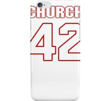 NFL Player Barry Church fortytwo 42 iPhone Case/Skin