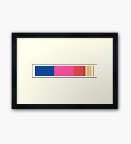 frank ocean - blond  Framed Print
