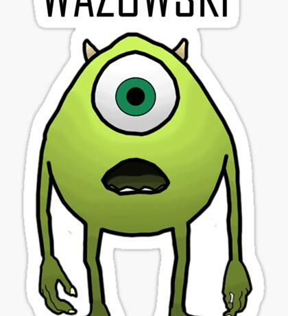 Wazowski Sticker