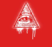 Eye of Providence Graffiti Unisex T-Shirt