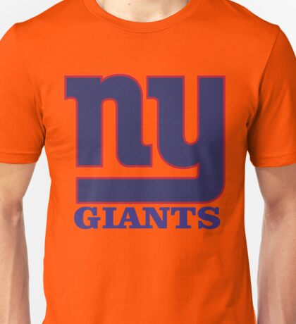 New York giants Football team Unisex T-Shirt