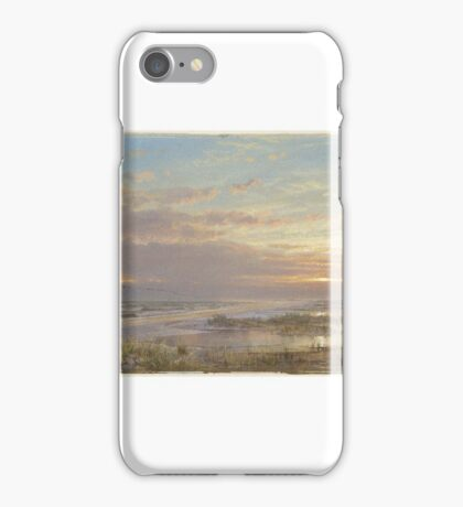 William Trost Richards (American, ). A High Tide at Atlantic City,  iPhone Case/Skin
