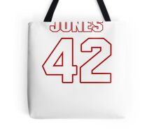 NFL Player Colin Jones fortytwo 42 Tote Bag