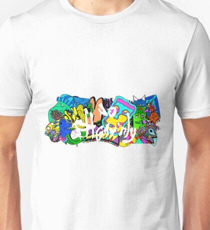 Grafitti Wall Unisex T-Shirt