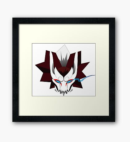 Blood Moon Yasuo Framed Print