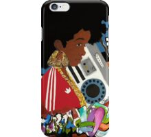 Old School Afro iPhone Case/Skin