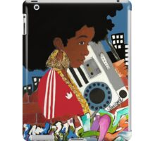 Old School Afro iPad Case/Skin