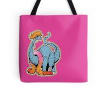 Brontina drag queen brontosaur - LGBT Dinos! Tote Bag