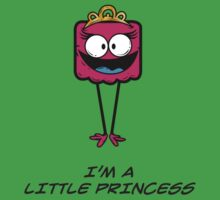 I'M A LITTLE PRINCESS Baby Tee