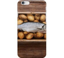 Raw Fish & Chips iPhone Case/Skin