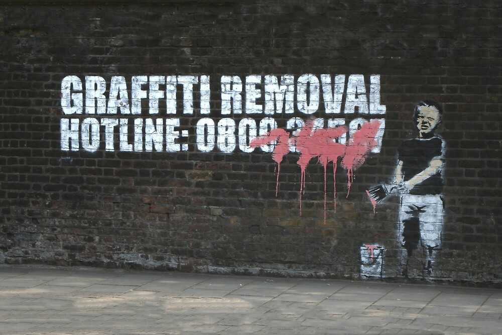 Graffiti Removal Hotline by areyarey