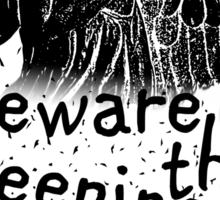 Beware the Weeping Angels  Sticker