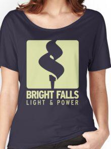 Bright Falls Light & Power (Alt.) Women's Relaxed Fit T-Shirt