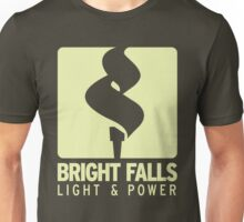 Bright Falls Light & Power (Alt.) Unisex T-Shirt