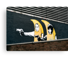 Banana Pulp Fiction  Canvas Print