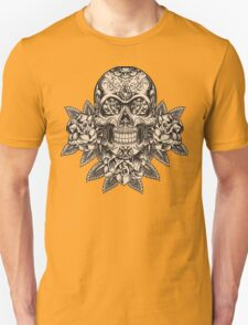 Flowering Sugar; Skulling Series T-Shirt