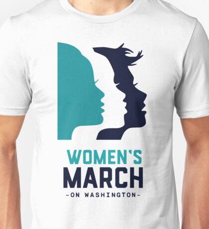 women march on washington 2017 Unisex T-Shirt