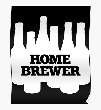Beer Making Beast Tee copy Poster