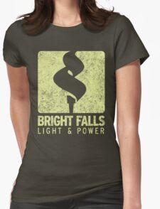 Bright Falls Light & Power (Alt.) (Grunge) Womens Fitted T-Shirt