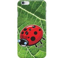 Dot the Lady Bug 2 iPhone Case/Skin