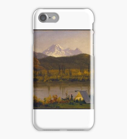 Mt. Baker, Washington, From the Frazier River, iPhone Case/Skin