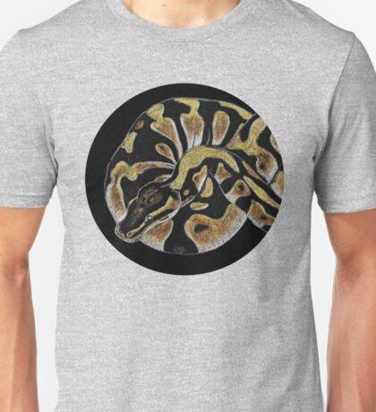Colored Pencil Ball Python Unisex T-Shirt