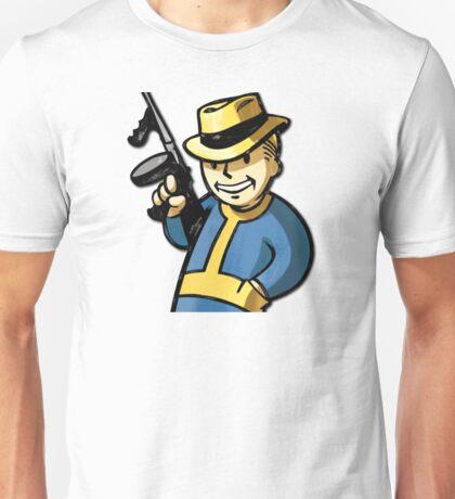 Fallout Vault Boy Mobster Unisex T-Shirt