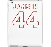 NFL Player J.J. Jansen fortyfour 44 iPad Case/Skin