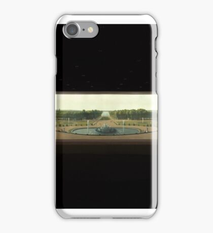 Panoramic View of the Palace and Gardens of Versailles , John Vanderlyn (American, Kingston, New York  Kingston, New York iPhone Case/Skin