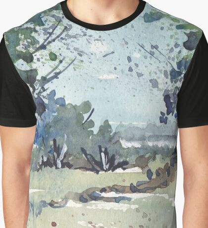 A cool winter scene Graphic T-Shirt