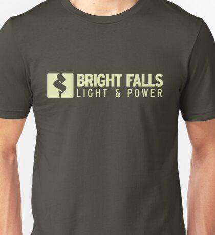 Bright Falls Light & Power Unisex T-Shirt