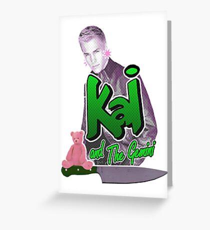 Kai and the Gemini Greeting Card