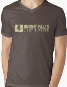 Bright Falls Light & Power (Grunge) Mens V-Neck T-Shirt