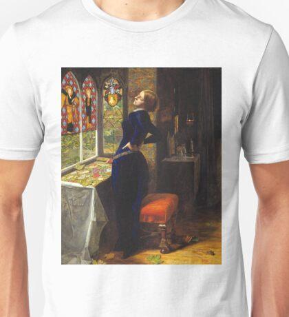 Mariana - John Everett Millais - 1851 Unisex T-Shirt