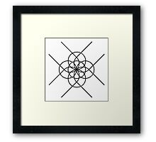 The Geometry of Tangent Curves and Circles Framed Print