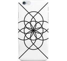 The Geometry of Tangent Curves and Circles iPhone Case/Skin