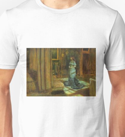 The Eve of Saint Agnes - John Everett Millais - 1863 Unisex T-Shirt
