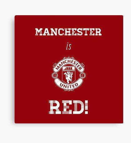 Manchester United FC Canvas Print